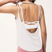 Load image into Gallery viewer, Hummingbird U Back Tank Top made of soft and breathable material