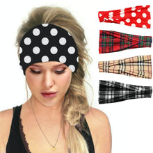 Load image into Gallery viewer, Hummingbird Vintage Printed Multifunctional Headband (5 Patterns) offers a secure fit to hold your hair back, and along with moisture-wicking fabric, allows you to stay fresh and focused on your workout. Perfect for all sorts of workout activities. Also suitable for daily wear as a hair band, head wrap, bandana, face cover, morning makeup and nighttime moisturizing.