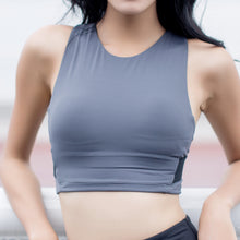 Load image into Gallery viewer, Hummingbird High-rise Wide Strap Sports Bra made of high quality breathable, fast dry and moisture wicking fabric
