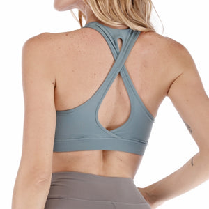 Hollow Back Sports Bra