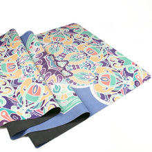 Load image into Gallery viewer, Hummingbird Mandala Foldable Yoga Mat