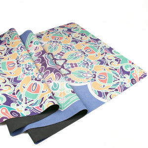 Hummingbird Mandala Foldable Yoga Mat