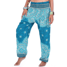 Load image into Gallery viewer, Hummingbird Mandala Print Loose Yoga Pants