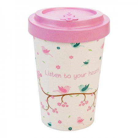 TAZZA IN BAMBOO BIRDIES 400ML