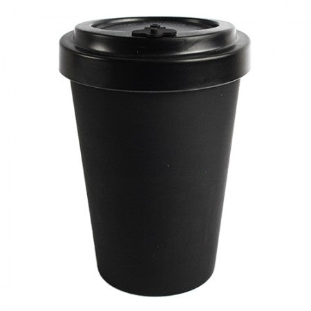 TAZZA IN BAMBOO CUP BLACK 300ml o 400 ml