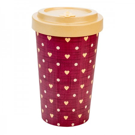 TAZZA IN BAMBOO LOVE BEIGE 500ML