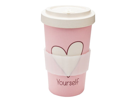 TAZZA IN BAMBOO LOVE YOURSELF 500ML