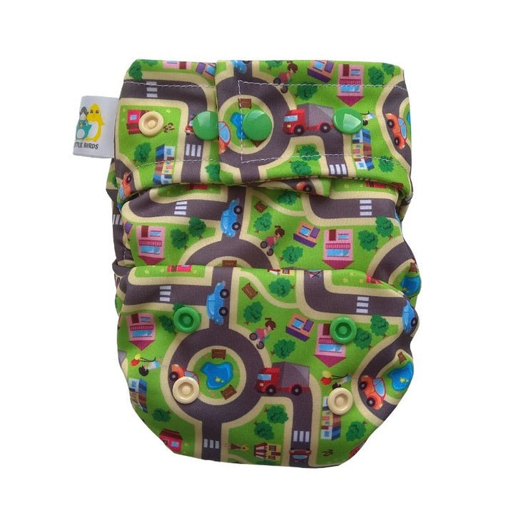 AIO – Linea Classic Little Birds Diapers - Cuoreinfascia