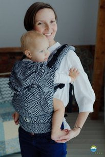 LITTLE FROG XL TODDLER CARRIER - Black Cube
