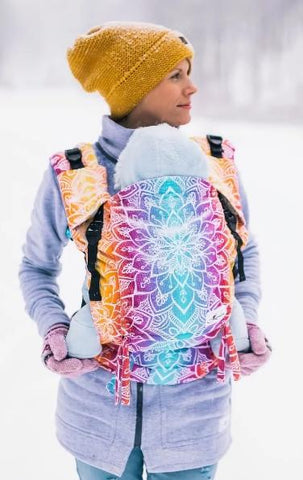 Baby Carrier - Lenka 4ever Mandala - Night - Cuoreinfascia