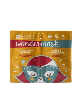 Wondermask - maschera 2 steps beauty anti age