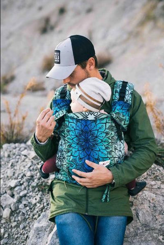 Baby Carrier - Lenka 4ever Mandala - Polar Night - Cuoreinfascia