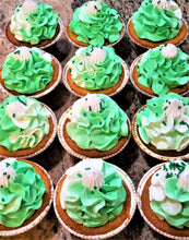 Load image into Gallery viewer, Dozen Go Green Cupcakes!!