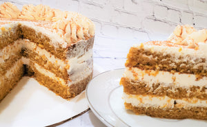 Classic Pumpkin Cake  with Cream Cheese Frosting