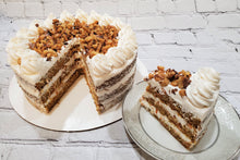 Load image into Gallery viewer, Classic Carrot Cake with Cream Cheese Frosting