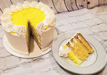 Load image into Gallery viewer, Lemon Curd Cake