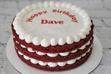 Load image into Gallery viewer, Red Velvet Birthday Cake