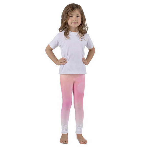 Soft Pink Kid's leggings - Coutfits
