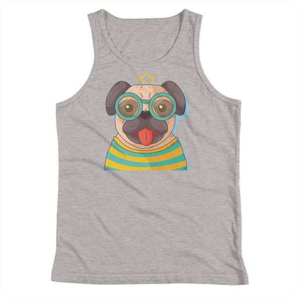 Pug Dog Kids Unisex Tank Top - Coutfits