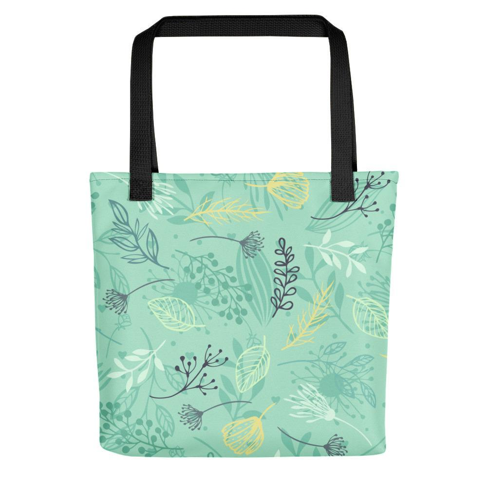 Floral Print Tote bag - Coutfits