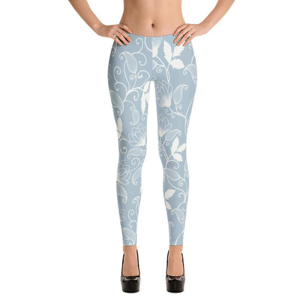 Flower Seamless Pattern Women Leggings - Coutfits