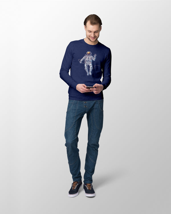 Cosmonaut Long sleeve Men T-Shirt - Coutfits