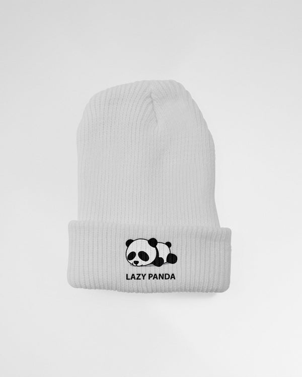 Lazy Panda Knit Beanie - Coutfits