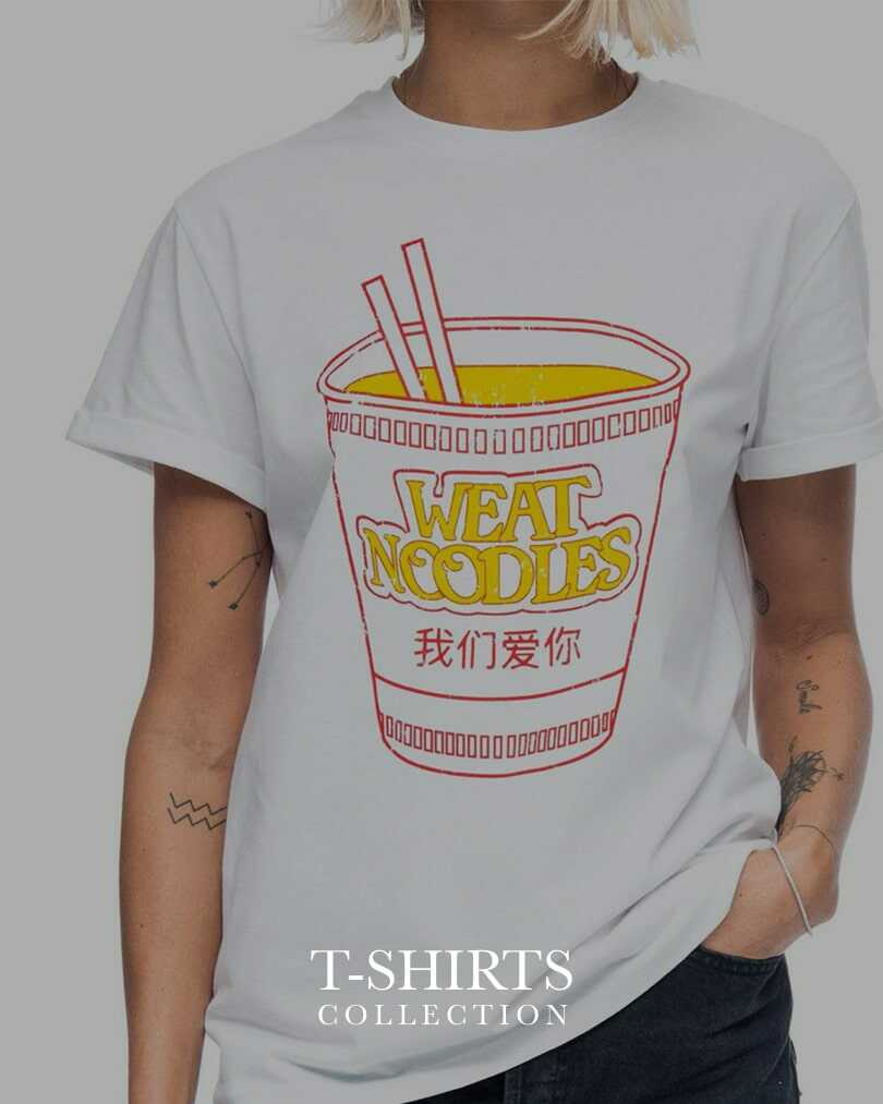 T-Shirt Fashion Apparel Collection by WEAT