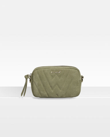 Belt Bag Suede Sage