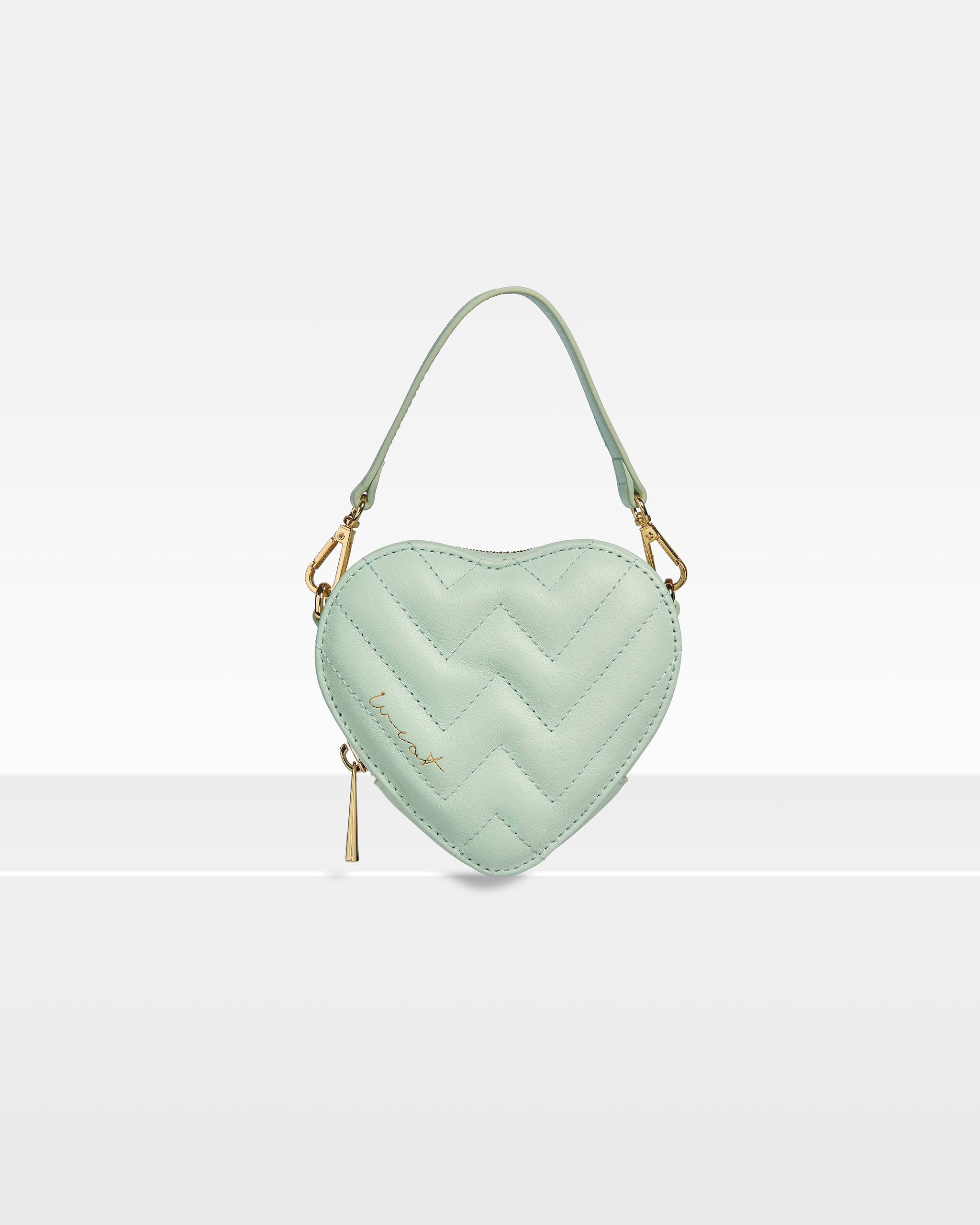 Mini Heart Seafoam