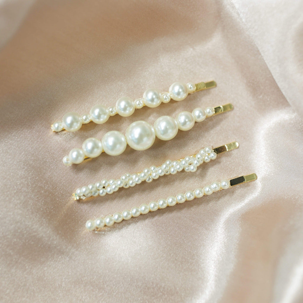 We Eat Avocado Toast Accessories Hair Pin Set Small Pearl