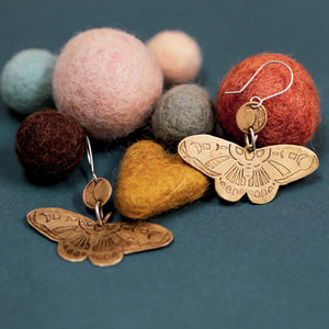 Preorder Moths Earrings #1