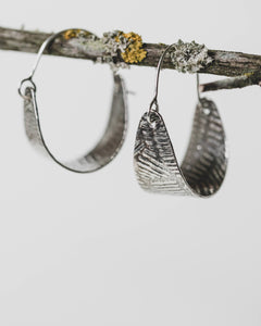 Sterling Small Hoops