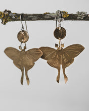 Load image into Gallery viewer, Moths Earrings #2