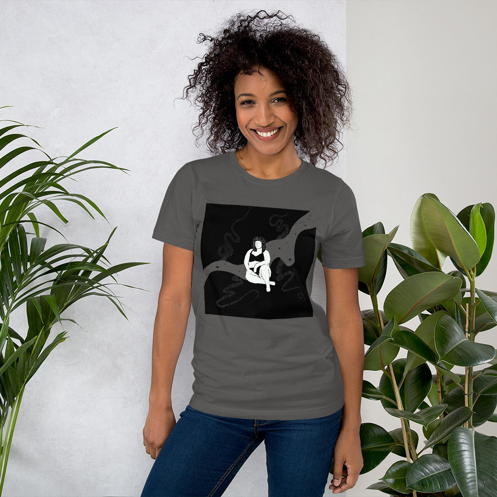 Joy Seeps In Short-Sleeve Unisex T-Shirt