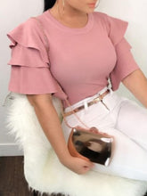 Load image into Gallery viewer, Plus Size Pretty In Pink Blouse