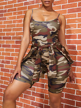 Load image into Gallery viewer, Camo Two Piece Short Set