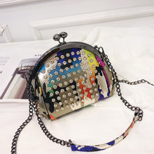Load image into Gallery viewer, Chain Strap Gold Crossbody