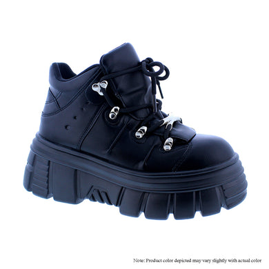 Black Chunky Shoe - Powerful