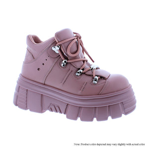 Mauve Chunky Shoe - Powerful