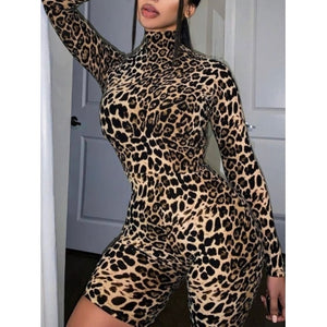 Leopard Short Set