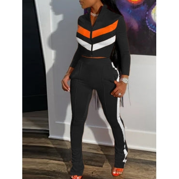 Black Two-Piece Sportswear