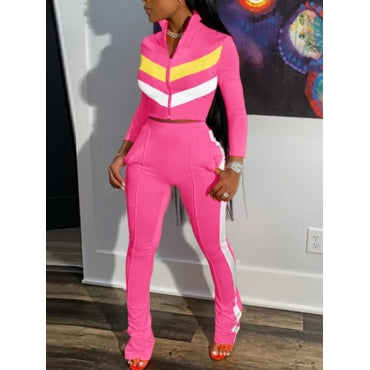 Pink Two-Piece Sportswear