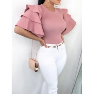 Plus Size Pretty In Pink Blouse