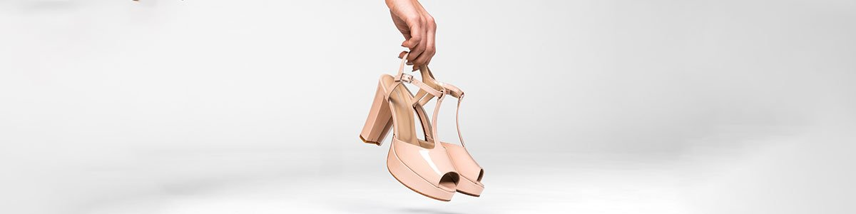 Heeled sandals made to measure
