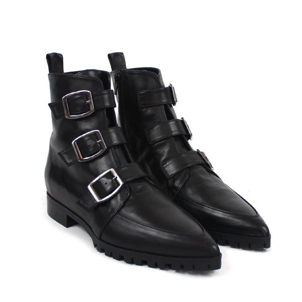 VETRILLA Black Leather Nappa