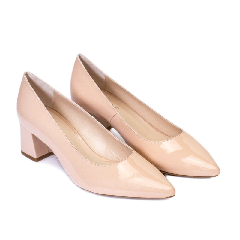 TRIVIA Nude Leather Patent