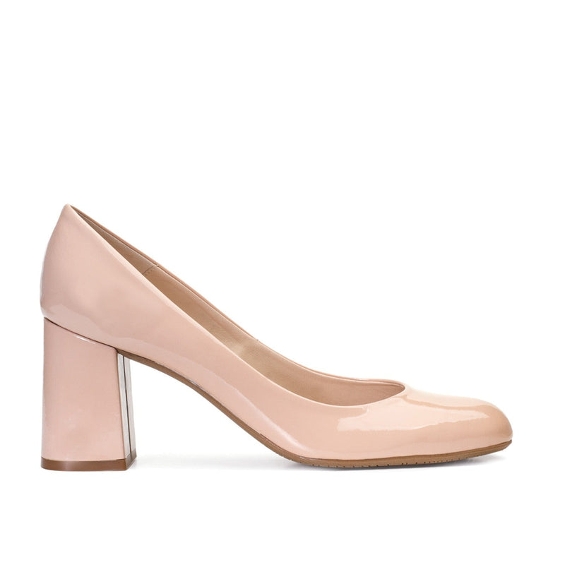 VENUS Nude Leather Patent