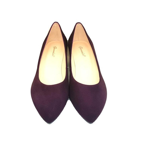 KATE Purple A-003 Leather Suede