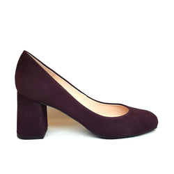 VIVA A-003 Purple Leather Suede